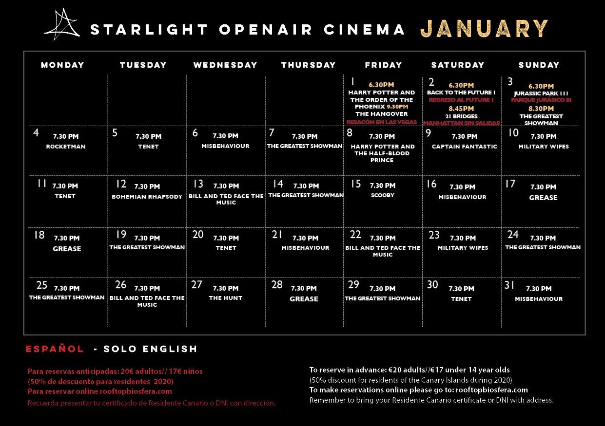 StarlightOpenAirCinema2021January